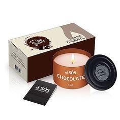 Vela Beijável Gourmet A Sós Chocolate Seja nossa consultora 21 98185-8951 whats