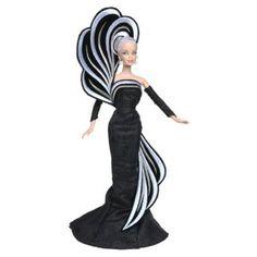 Bob mackie 45th anniversary blonde barbie doll nrfb mint