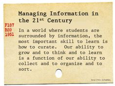 Can we teach students to digital curate without first experiencing it ourselves?