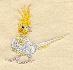 Machine Embroidery Designs at Embroidery Library! - Australia and New Zealand Birds