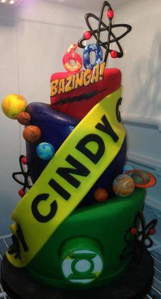 Big Bang Theory on Cake Central