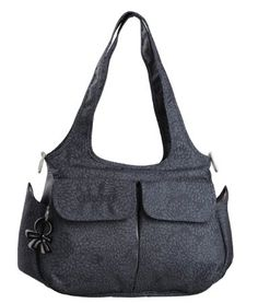 Amazon.com: Okiedog Viva Sassy Tote, Charcoal Grey: Baby