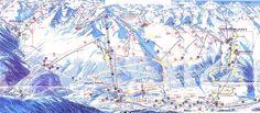 Solden Ski map