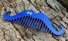 comb moustache handlebar гребенка для усов хэндлбар
