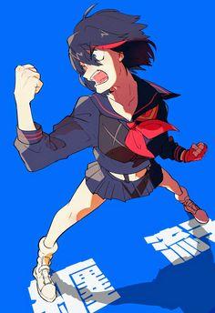 Ryūko Matoi╳Kill la Kill #GGHimSelf #anime ╳Subscribe, Repost the pics and Have fun! Kill A Kill, Darling In The Franxx, Otaku, Have Fun, Fan Art, Drawings, Drawing Ideas, Anime, Fictional Characters