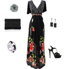 """""""love the dress"""" by amanda-stogner on Polyvore"""