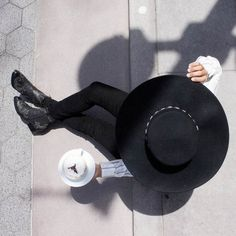 Black hat, top of the morning