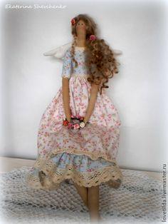 """Куклы Тильды ручной работы. Ярмарка Мастеров - ручная работа Ангел Прованса (по мотивам """"Весенний ангел""""). Handmade."""