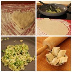 Teigtaschen mit Kartoffeln und Brokkoli #BLW #Baby #Fingerfood