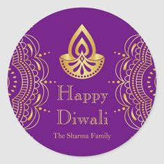 Party Hats, Party Favors, Party Invitations, Diwali Lamps, Diwali Party, Indian Patterns, Happy Diwali, Round Stickers, Gift Tags