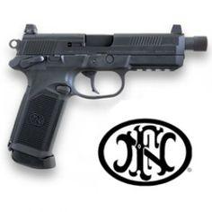 FN FNX-45 Tactical DA/SA MS Blk/Blk (3) 15 rd Mags for LE