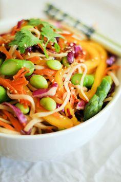 #Recipe: Spring #Vegetable Pad Thai