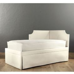 Isabella Right Corner Daybed with Trundle; Great for office/guest room