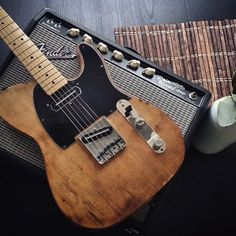 Happy #TeleTuesday with this photo from @aaroncormier. #Twang #Princeton #Fender #GearTalk