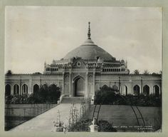 "c.1890 PHOTO PRINT INDIA CLIFTON , KING GHAZIUDDIN HAIDER""S TOMB, LUCKNOW, Shah Najaf Imambara"
