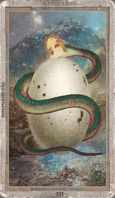 XXI. The World - Tarocchi di Visionaire by Beatrice Polidori
