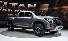 Nissan Titan Warrior Concept, un competidor para la Ford Lobo Raptor Nissan Titan Xd Diesel, 2017 Nissan Titan, Ford Lobo, New Titan, Nissan Trucks, Cummins Diesel, Nissan Patrol, Auto News, Custom Trucks