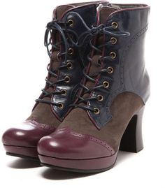Classic lace up boots / ShopStyle: あしながおじさん ASHINAGAOJISAN クラシックショートブーツ