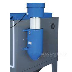 Sabbiatrice con aspiratore Fervi 0601 - in vendita su Macchinato Sandblasting Cabinet, Cabinet Manufacturers