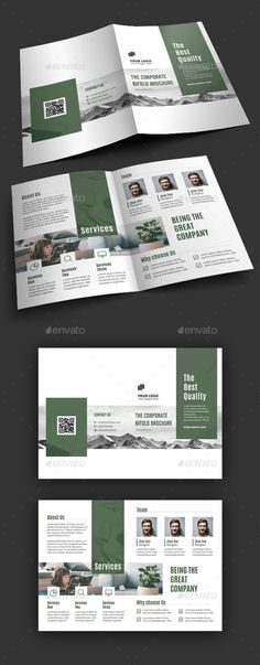 Bifold Brochure - Envato Market #brochure #graphicdesign #BrochureDesign #PrintDesign #brochures #print #graphicdesign #graphic #designcollection #graphics #BestDesignResources
