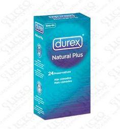 DUREX NATURAL PLUS PRESERVATIVOS 24 UNIDADES