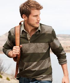Rugby Shirt: POLOS and KNITS | Free Shipping at L.L.Bean