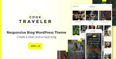 Cook Traveler - Responsive Blog WordPress Theme (Blog / Magazine) - http://creativewordpresstheme.com/cook-traveler-responsive-blog-wordpress-theme-blog-magazine/