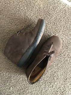 167b9141f815 Clarks Unstructured Womens Size 8 Leather Shoes- Used
