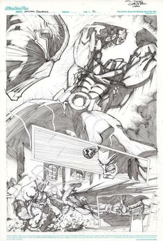Art: Gerardo Sandoval Page [link] Batman Copyright © DC Comics Batman VS Bane 2 Bane, Comic Book Artists, Comic Books, All About Me Art, Valiant Comics, Comic Character, Character Reference, Sketch Pad, Dc Comics Characters