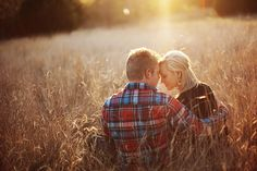 Love the field. The pose. The backlighting. Must try for couple session.