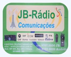 JB Rádios e Comunicação Rua: Dr. António Silvio Cunha Bueno ,101 Pq. Industrial Jurumirim Cidade: A