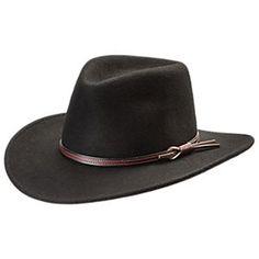 c71150b8a27 Stetson Bozeman Crushable Wool Cowboy Hat