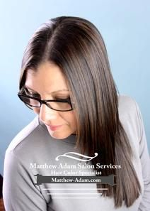 Brunette hair highlights on Latin hair that has been Straightened with Japanese Thermal Reconditioning -Matthew Adam performs the Dallas best balayage hair color in Addison. He also serves Plano, Irving, Valley Ranch, Carrollton, and Farmers Branch