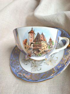 Tirschenreuth/Bavaria Tea Cup - Circa 1960's.