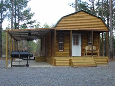 Portable Storage Shed Cabin 24 Ideas Shed To Tiny House, Tiny House Cabin, Tiny House Living, Tiny House Design, Small House Plans, Lofted Barn Cabin, Shed Cabin, Shed Homes, Cabin Homes