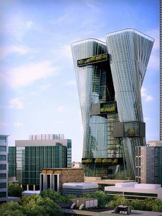 Возрождение легенды: офисные башни Parramatta