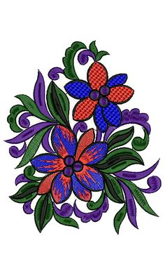 Patch Embroidery Design 13288