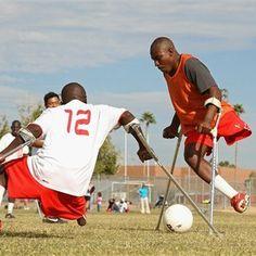 Haiti National Amputee Soccer Team.