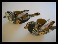 Scrap Paper / Fabric Birds