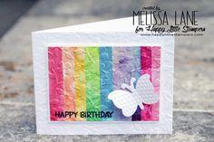 Happy Little Stampers June Mixed Media Challenge – Texture | honeybeelane