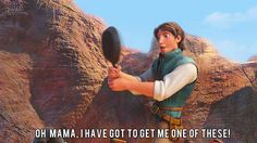 Frying pans! Who knew, right? (I just watched this movie again! I love it.) (click through for gif)