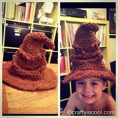 Ravelry: Harry Potter Sorting Hat pattern by Allison Hoffman