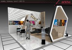 Korel Termal Exclusive Exhibition Stand Design @ Fair İstanbul Turkey | Arkhe Mimarlık  http://www.fairistanbulturkey.com/project.aspx?projeId=37
