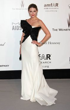 Mischa Barton in Christian Dior at the amfAR Cinema Against AIDS Gala (2007)