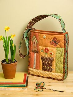 Bag by patchwork pottery - no pattern just inspiration