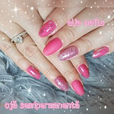 Oja semipermanenta roz Nails, Beauty, Finger Nails, Beleza, Ongles, Nail, Cosmetology, Manicures