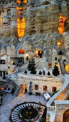 Nevşehir-Turkey – 2020 World Travel Populler Travel Country Places To Travel, Places To See, Places Around The World, Around The Worlds, Beau Site, Underground Cities, Beautiful Nature Scenes, Travel Aesthetic, Beautiful Places To Visit