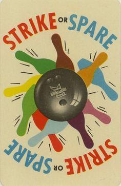 vintage bowling poster - Google Search