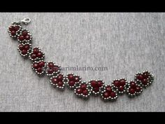 Necklace from Taki Tasarimian  ~ Seed Bead Tutorials                                                                                                                                                                                 More