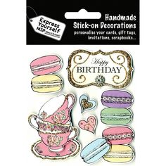 Diy Express Yourself Diy Macaroons And Teacups Toppers | Hobbycraft